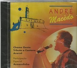 CD ANDRE MACEDO - NA BELEZA DO MAR (NOVO/LACRADO)