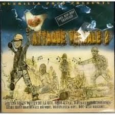 CD ATTAQUE VERBALE - VOL 2 (HIP HOP) (NOVO/LACRADO)