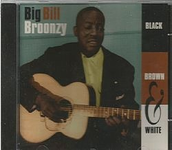 CD BIG BILL BROONZY - BLACK BROWN WHITE (USADO/OTIMO)
