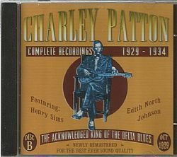 CD CHARLEY PATTON - COMPLETE 1929-1934 DISC B (USADO-OTIMO)