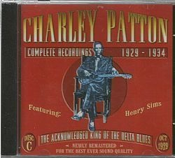 CD CHARLEY PATTON - COMPLETE 1929-1934 DISC C (USADO-OTIMO)