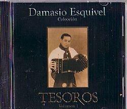 CD DAMASIO ESQUIVEL - TESOROS VOL 1 (NOVO/ABERTO)