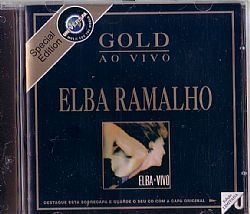 CD ELBA RAMALHO - GOLD AO VIVO (USADO/OTIMO)