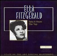 CD ELLA FITZGERALD - TAKE IT FROM THE TOP (NOVO-ABERTO)