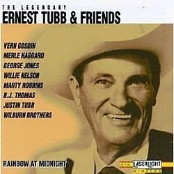 CD ERNEST TUBB & FRIENDS - RAINBOW AT MIDNIGHT (USADO/OTIMO)