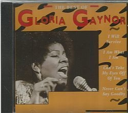 CD GLORIA GAYNOR - THE BEST OF (USADO/OTIMO)