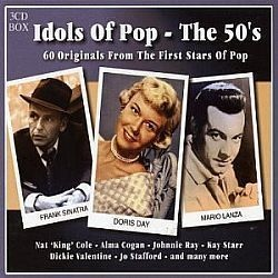 CD IDOLS OF POP THE 50S (BOX 3CDS) (NOVO/LACRADO)