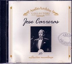 CD JOSE CARRERAS - AUDIO ARCHIVE (USAD/OTIMO)