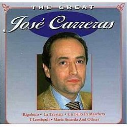 CD JOSE CARRERAS - THE GREAT (NOVO-ABERTO)