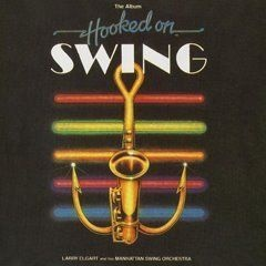 CD LARRY ELGART & HIS ORCH - HOOKED ON SWING (USADO/OTIMO)