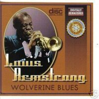 CD LOUIS ARMSTRONG - WOLVERINE BLUES (USADO/OTIMO)
