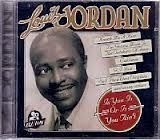 CD LOUIS JORDAN - IS YOU IS  YOU AINT (NOVO/LACRADO)