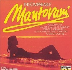 CD MANTOVANI ORCHESTRA - INCOMPARABLE (USADO/OTIMO)