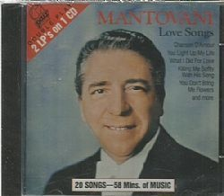 CD MANTOVANI ORCHESTRA - LOVE SONGS (NOVO-LACRADO)