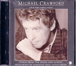 CD MICHAEL CRAWFORD - SONGS FROM THE STAGE.. e WITH LOVE (USADO/OTIMO)