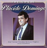 CD PLACIDO DOMINGO - THE GREAT (USADO/OTIMO)