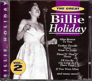 Billie Holiday - The Great Billie Holiday Vol. 2