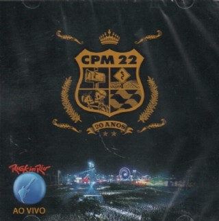 CD CPM 22 - Rock In Rio Ao Vivo