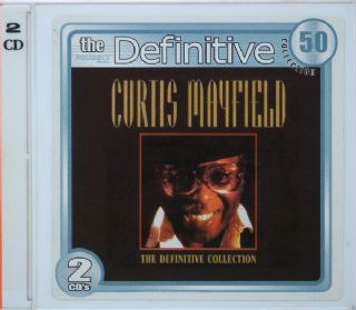 CD Curtis Mayfield - The Definitive Collection