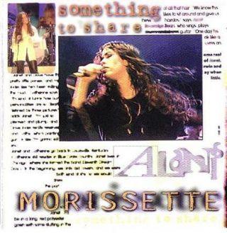 Alanis Morissette - Something To Share