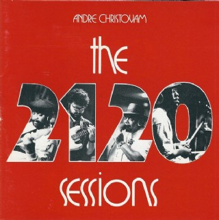 CD Andre Christovam - The 2120 Sessions