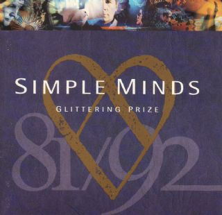 CD Simple Minds - Glittering Prize 81/92
