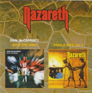 Cd Nazareth (dan mccafferty) - Into The Ring + Singles Vol 3