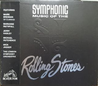 Cd The Rolling Stones - Symphonic By London Symphony Orch.