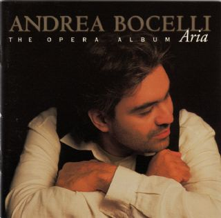 CD Andrea Bocelli - Aria - The Opera Album