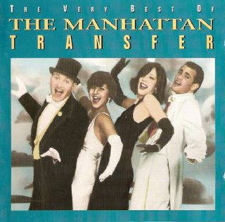Cd The Manhattan Transfer - The Very Best Of
