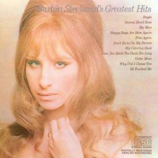 CD Barbra Streisand - Streisands Greatest Hits