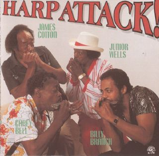 Cd Harp Attack - Cotton-wells-bell-branch