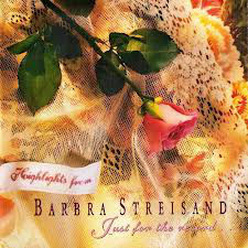 CD Barbra Streisand - Highlights From Just For The Record