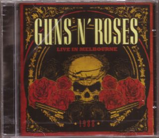 CD GUNS N ROSES - LIVE IN MELBOURNE (USADO-OTIMO)