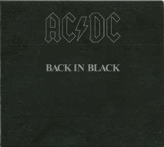 Cd AC/DC - Back In Black