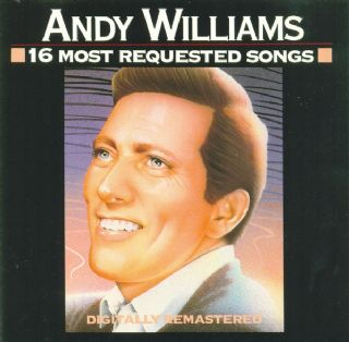 CD Andy Williams - 16 Most Requested Songs