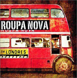 CD Roupa Nova - Em Londres