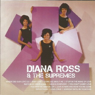 CD Diana Ross & The Supremes - Icon