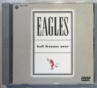 DVD Eagles - Hell Freezes Over