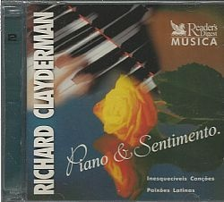 CD RICHARD CLAYDERMAN - PIANO & SENTIMENTO VOL 3+4 (USADO/OTIMO)