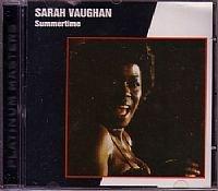 CD SARAH VAUGHAN - SUMMERTIME (USADO/OTIMO)