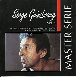 CD SERGE GAINSBOURG - MASTER SERIES VOL 3 (USADO/OTIMO)