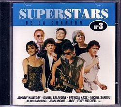 CD SUPERSTARS DE LA CHANSON - VOL. 3 (USADO/OTIMO)