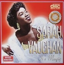 CD SARAH VAUGHAN - ITS MAGIC (USADO/OTIMO)