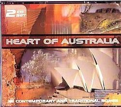 CD HEART OF AUSTRALIA - TRADITIONAL SONGS (USADO/OTIMO)