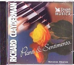 CD RICHARD CLAYDERMAN - PIANO & SENTIMENTO VOL 5 (USADO/OTIMO)