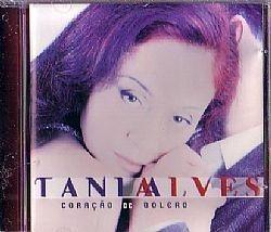 CD TANIA ALVES - CORACAO DE BOLERO (USADO/OTIMO)
