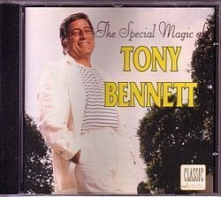 CD TONY BENNETT - THE SPECIAL MAGIC OF (USADO/OTIMO)