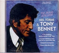 CD TONY BENNETT & MEL TORME - THE SONG STYLISTS (NOVO/ABERTO)