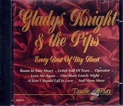 CD GLADYS KNIGHT & THE PIPS - EVERY BEAT OF MY HEART (USADO/OTIMO)